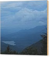 Appalachian Lake Wood Print