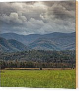 Appalachian Mountain Range Gsmnp Wood Print by Paul Herrmann