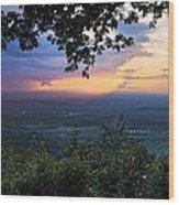 Appalachian Mountains Wood Print