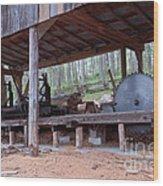 Appalachian Saw Mill Wood Print