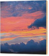 Appalachian Sunset Wood Print