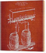 Apparatus For Beer Patent From 1900 - Red Wood Print