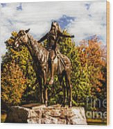 Appeal To The Great Spirit Wood Print