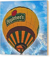 Appelbee's Hot Air Balloon Wood Print