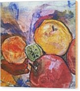 Appetite For Color Wood Print by Sherry Harradence