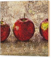 Apple Wood Print