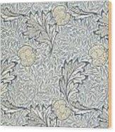 Apple Design 1877 Wood Print by William Morris