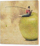 Apple Dream Wood Print