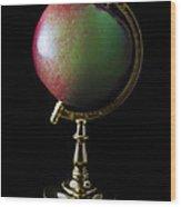 Apple Globe Wood Print