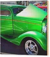 Apple Green Jewel Wood Print