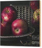 Apple Harvest Wood Print