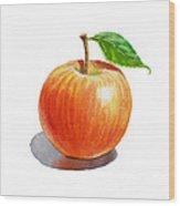 Artz Vitamins Series An Apple Wood Print