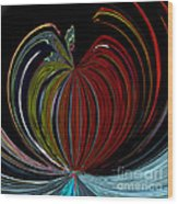 Apple Of My Eye Wood Print