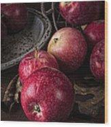 Apple Still Life Wood Print