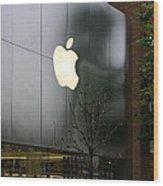 Apple Store Wood Print by Viktor Savchenko