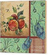 Apple Tapestry-jp2203 Wood Print