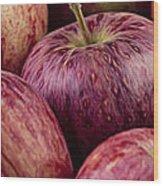 Apples 01 Wood Print