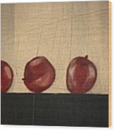 Apples for Gayle Wood Print