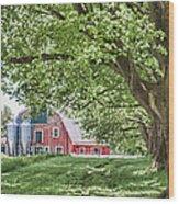 Appleton Barn Wood Print