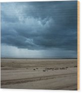 Approaching Storm - Outer Banks Wood Print