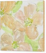 Apricot Quince Wood Print