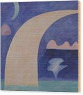 April 1940 Wood Print