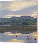 April In Donegal - Lough Eske Wood Print