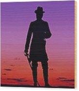 April Sunset In Gettysburg Wood Print