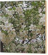 April's Bouquet Wood Print