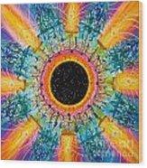 Apus Iris Constellation Wood Print