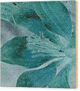 Aqualily Wood Print