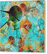 Aquarium 612-12-13 Marucii Wood Print