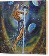 Aquarius Wood Print