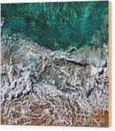 Aquatic Wood Print