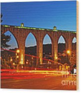 Aqueduct Of The Free Waters Wood Print