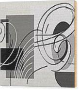 Arabescos 1 Wood Print