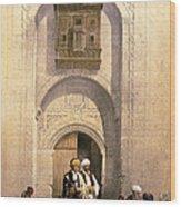 Arabesque Cairo Wood Print