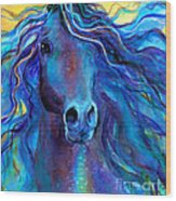 Arabian Horse #3  Wood Print by Svetlana Novikova