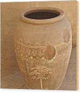 Arabian Pottery Wood Print