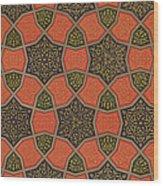 Arabic Decorative Design Wood Print