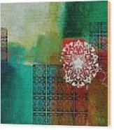Arabic Motif 6 Wood Print