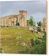 Aracena Castle Sxiii Wood Print