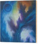 Aramon Nebula  Wood Print