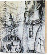 Arapaho Cheyenne Wood Print