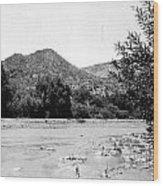 Aravaipa Creek Wood Print