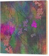 Arbor Autumn Harmony 4 Wood Print