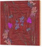 Arbor Autumn Harmony 7 Wood Print
