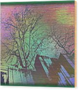 Arbor In The City 6 Wood Print