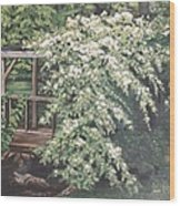 Arbor Passage Wood Print