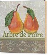 Arbre De Poire Wood Print